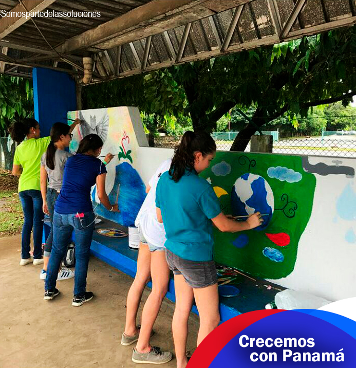 niños pintando - lacasadeltanque