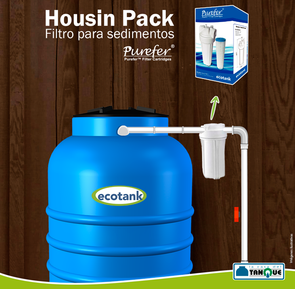 Por qu poner un filtro antes del tanque para agua for Como criar cachamas en tanques plasticos